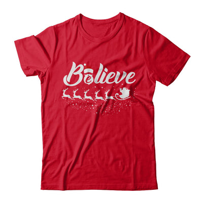 Believe Best Santa Christmas Gifts T-Shirt & Sweatshirt | Teecentury.com