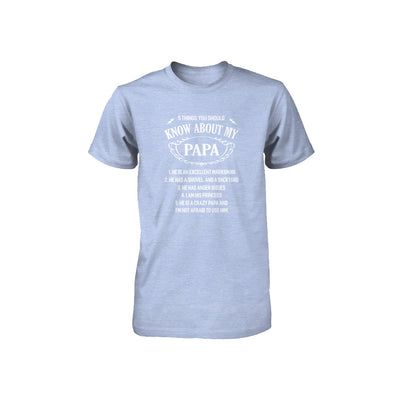 5 Things You Should Know About My Papa Youth Youth Shirt | Teecentury.com