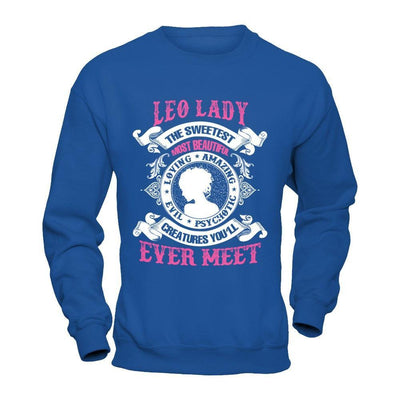 Leo Lady The Sweetest Most Beautiful Love Amazing T-Shirt & Hoodie | Teecentury.com