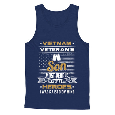 Vietnam Veteran's Son I Was Raised By Mine T-Shirt & Hoodie | Teecentury.com