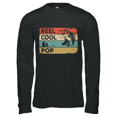 Vintage Reel Cool Pop Fish Fishing Fathers Day T-Shirt & Hoodie | Teecentury.com