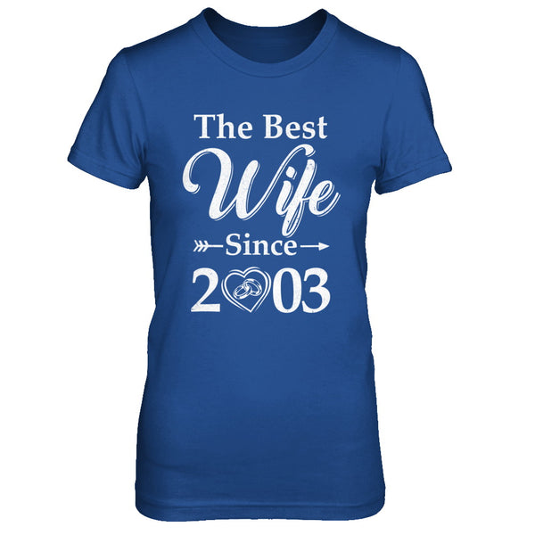17th Anniversary Gift For Wife: 17th Married Together Anniversary Since 2003 Husband Wife