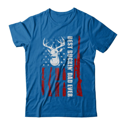 Best Buckin Dad Ever Deer Hunting Father's Day Gift T-Shirt & Hoodie | Teecentury.com