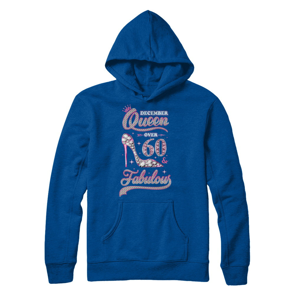 e08cccd9b December Queen 60 And Fabulous 1959 60th Years Old Birthday Shirt ...