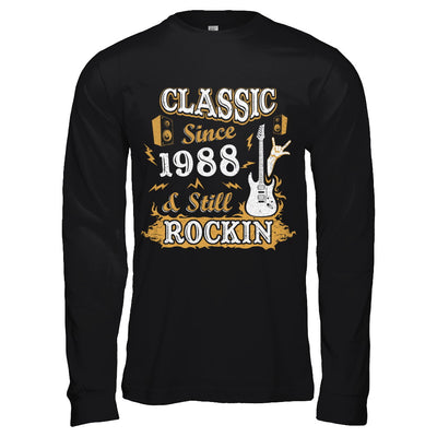 Vintage Classic Since 1988 With Rockin 32th Birthday T-Shirt & Hoodie | Teecentury.com