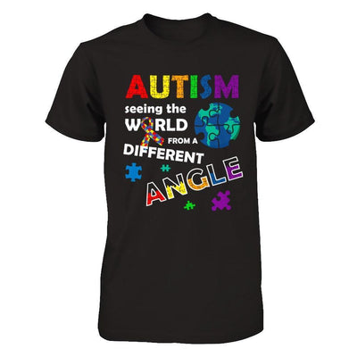 Autism Seeing The World Differently Angel T-Shirt & Hoodie | Teecentury.com
