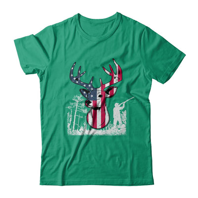 American Flag Hunting Dear Vintage 4Th July Gifts T-Shirt & Hoodie | Teecentury.com