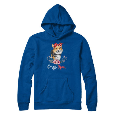 Corgi Mom Gift For Women Dog Lover T-Shirt & Hoodie | Teecentury.com