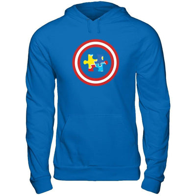 Captain Autism Awareness T-Shirt & Hoodie | Teecentury.com