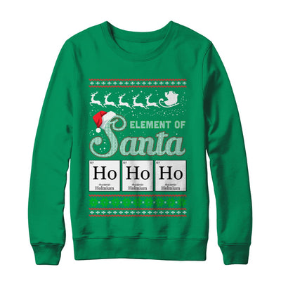 Hohoho Element Of Santa Chemistry Christmas T-Shirt & Sweatshirt | Teecentury.com