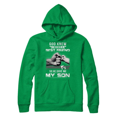 God Knew I Needed A Best Friend So He Gave My Son T-Shirt & Hoodie | Teecentury.com