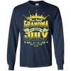The Best Grandma Was Born In July T-Shirt & Hoodie | Teecentury.com