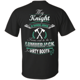 Turns out to be a LUMBERJACK In Dirty Boots T-Shirt & Hoodie | Teecentury.com