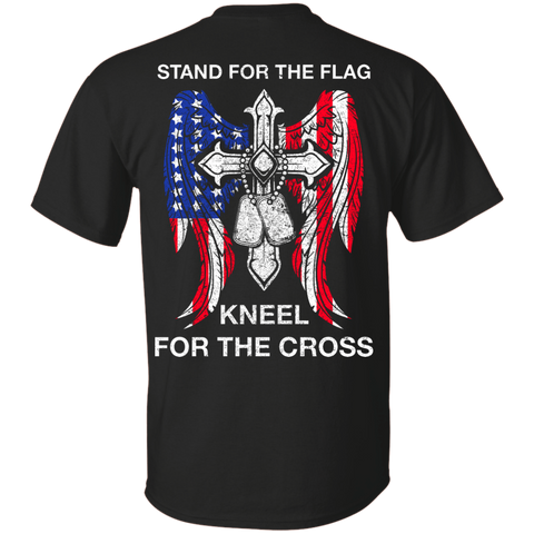 Stand For The Flag Kneel For The Cross T-Shirt & Hoodie | Teecentury.com