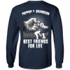 Poppop And Grandson Best Friends For Life T-Shirt & Hoodie | Teecentury.com