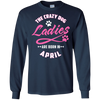 The Crazy Dog Ladies Are Born In April T-Shirt & Hoodie | Teecentury.com