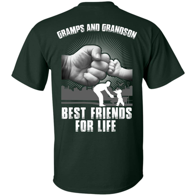 Gramps And Grandson Best Friends For Life T-Shirt & Hoodie | Teecentury.com