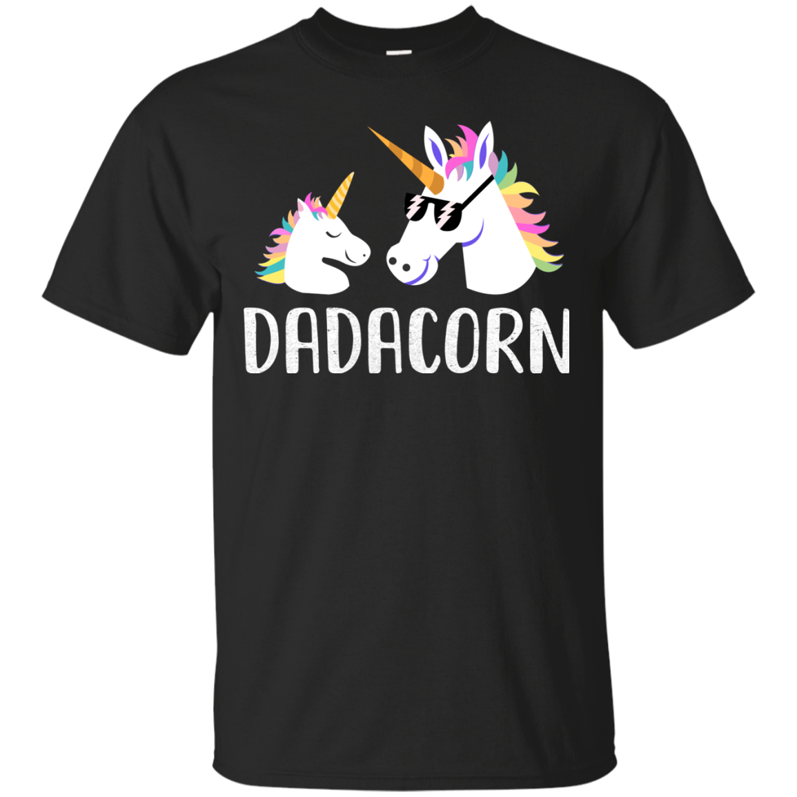 Dadacorn Unicorn Dad And Baby Fathers Day Gifts
