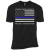 Police Lives Matter Honor Pride Dignity T-Shirt & Hoodie | Teecentury.com