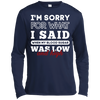I'm Sorry For What I Said When My Blood T-Shirt & Hoodie | Teecentury.com
