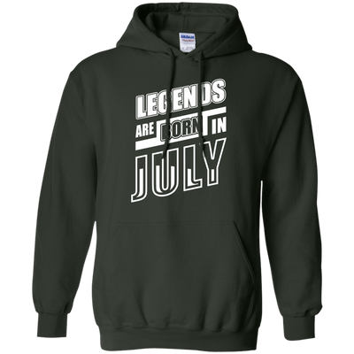Legends are born in JULY T-Shirt & Hoodie | Teecentury.com