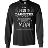 PROUD DAUGHTER OF AWESOME MOM T-Shirt & Hoodie | Teecentury.com