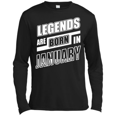 Legends are born in JANUARY T-Shirt & Hoodie | Teecentury.com