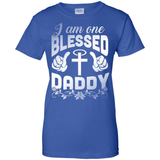 I Am One Blessed Daddy T-Shirt & Hoodie | Teecentury.com