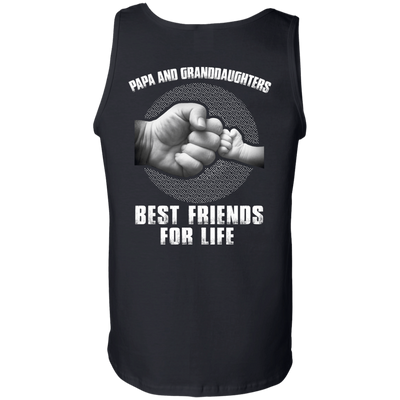 Papa And Granddaughters Best Friends For Life T-Shirt & Hoodie | Teecentury.com