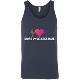 More Love Less Hate T-Shirt & Hoodie | Teecentury.com