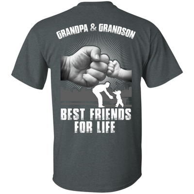 Grandpa And Grandson Best Friends For Life T-Shirt & Hoodie | Teecentury.com