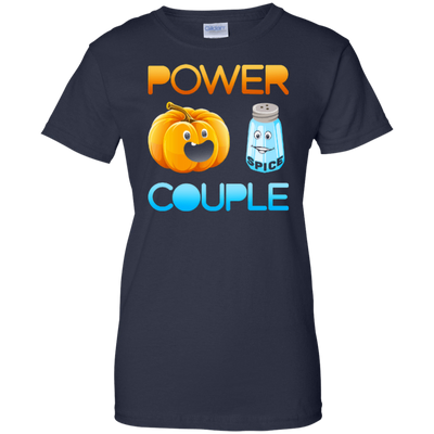 Pumpkin Spice Power Couple Halloween T-Shirt & Hoodie | Teecentury.com