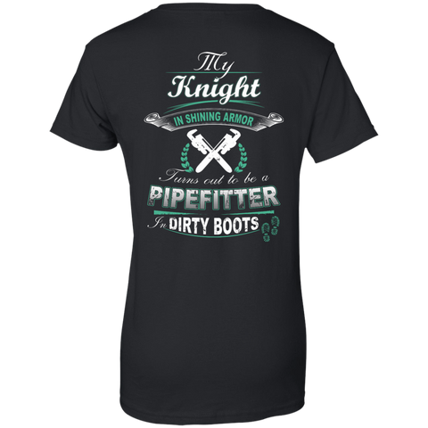 Turns Out To Be A PIPEFITTER In Dirty Boots T-Shirt & Hoodie | Teecentury.com