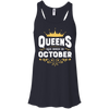 Queens Are Born In October T-Shirt & Hoodie | Teecentury.com