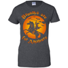 Brooms Are For Amateurs Funny Halloween Horse Riding T-Shirt & Hoodie | Teecentury.com