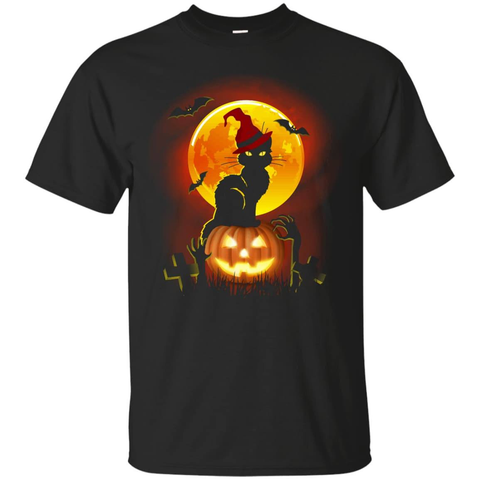 Happy Halloween Cat T-Shirt & Hoodie | Teecentury.com
