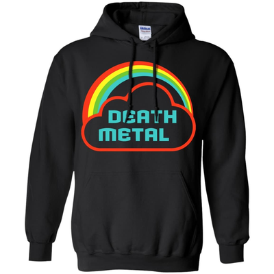 Death Metal Rainbow Rocker T-Shirt & Hoodie | Teecentury.com