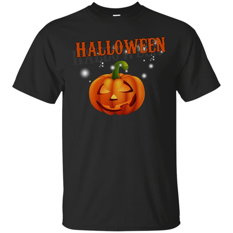 Glowing Pumpkin Cool Halloween T-Shirt & Hoodie | Teecentury.com