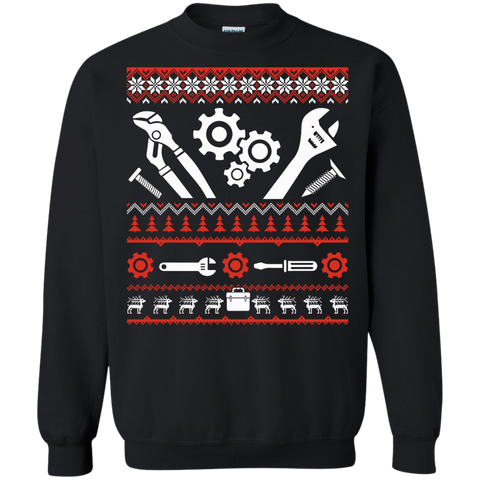 Mechanic Christmas Sweater T-Shirt & Hoodie | Teecentury.com