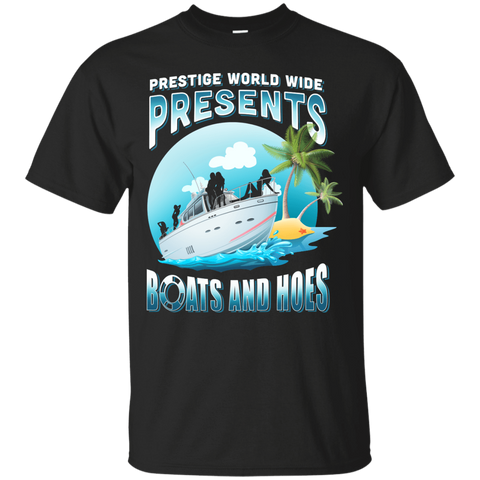 Prestige Worldwide Present Boats And Hoes T-Shirt & Hoodie | Teecentury.com