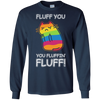 Rainbow Cat Fluff You You Fluffin' Fluff Cat T-Shirt & Hoodie | Teecentury.com