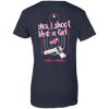 I Shoot Like A Girl T-Shirt & Hoodie | Teecentury.com