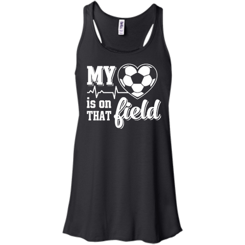 My Heart Is On That Field Soccer T-Shirt & Hoodie | Teecentury.com