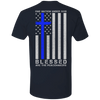 One Nation Under God Thin Blue Line T-Shirt & Hoodie | Teecentury.com
