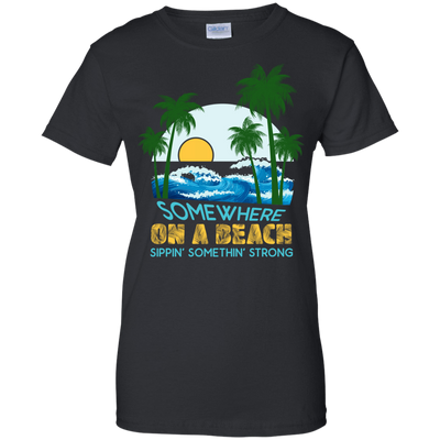 Somewhere On A Beach T-Shirt & Hoodie | Teecentury.com