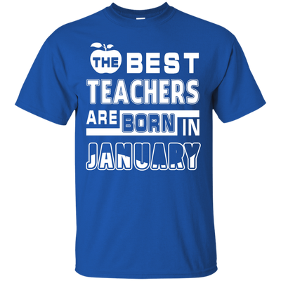 The Best Teachers Are Born In February T-Shirt & Hoodie | Teecentury.com