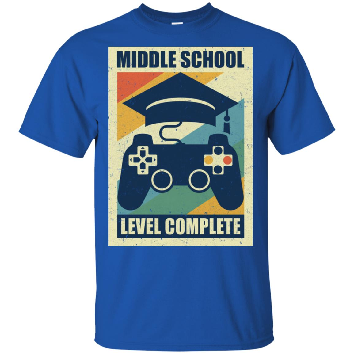 Middle School Graduation Video Game Gamer Gifts Shirt & Hoodie