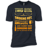 Taken By Hot Chubby Beer Chugging Guy T-Shirt & Hoodie | Teecentury.com