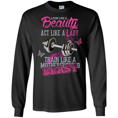 Look like a beautiful act like a lady T-Shirt & Hoodie | Teecentury.com