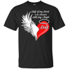 Dad Half My Heart Is In Heaven With My Angel T-Shirt & Hoodie | Teecentury.com